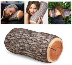 - Ağaç Tasarımlı Kütük Yastık
