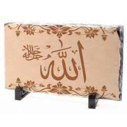 - Allah Yazılı Taş Baskı