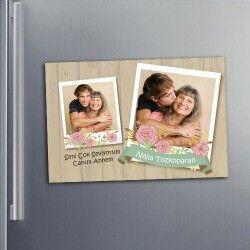 - Anne Sevgisi Buzdolabı Magnet
