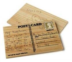 - Aşkını Kazı - Ahşap Posta Kartı