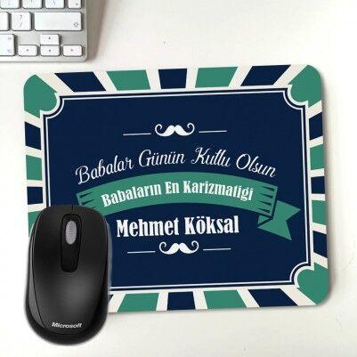 - Babalar Günü Mesajlı Hediye Mousepad