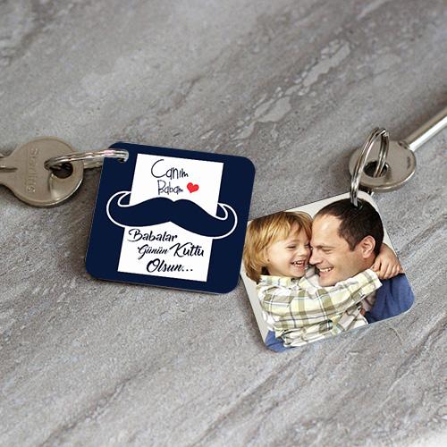 - Babalar Gününe Özel Anahtarlık