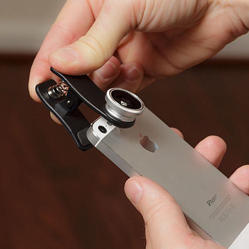 - Balık Gözü Cep Telefonu Lensi