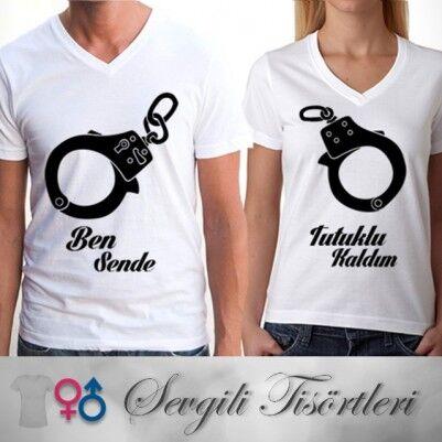 - Ben Sana Mahkumum Sevgili Tişörtü