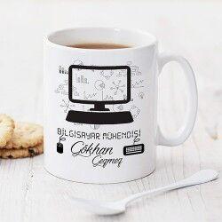 - Bilgisayar Mühendisine Özel Kahve Kupası