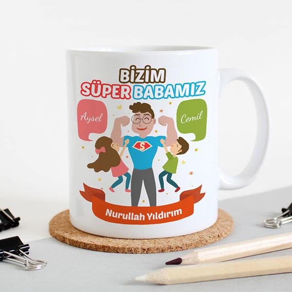 Bizim Süper Babamız Kupa Bardak