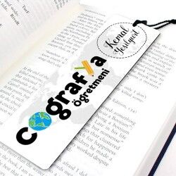 - Coğrafya Öğretmenine Özel Kitap Ayracı
