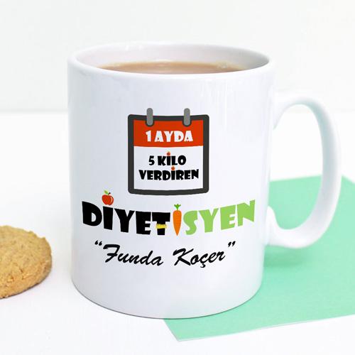 - Diyetisyenlere Özel Kahve Kupası