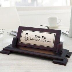 - Doktorlara Özel Masaüstü İsimlik
