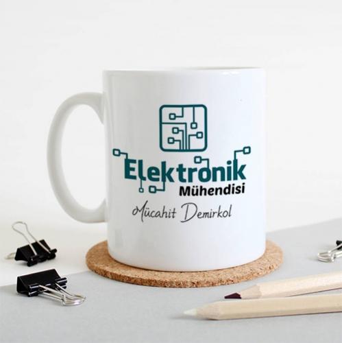 - Elektronik Mühendislerine Özel Kupa Bardak