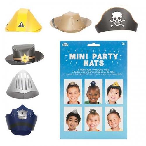 - Erkek Çocuklar İçin Mini Parti Şapkaları