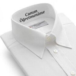- Erkek Öğretmene Hediye Mesajlı Gömlek