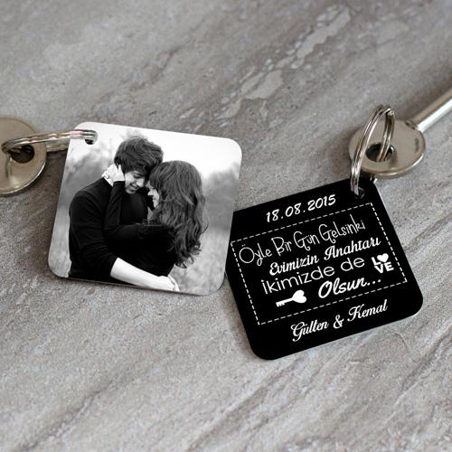 - Evimizin Anahtarı İkimizde de Olsun Anahtarlık