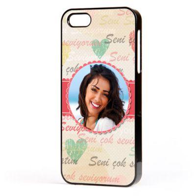 - Fotoğraflı Seni Seviyorum Yazılı iPhone Kılıf