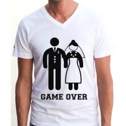 - Game Over Yazılı Tişört