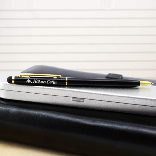 - İsme Özel Metal Kutulu Tükenmez Kalem
