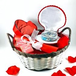 Kalbimin İnci Tanesine Hediye Sepeti - Thumbnail