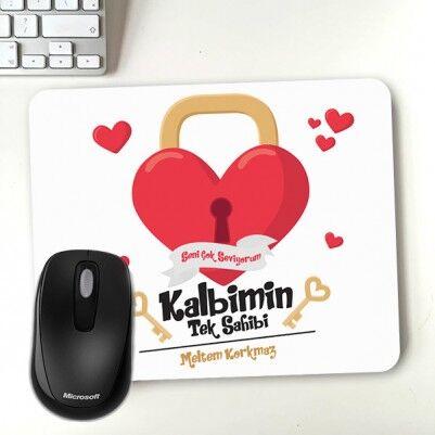 - Kalbimin Sahibi Sevgililere Özel Mousepad