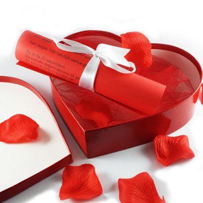 - Kalp Kutuda Doğum Günü Takvimi