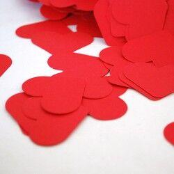 - Kırmızı Kalp Mesajlar Kağıtları
