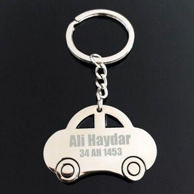 - Kişiye Özel Araba Hediyesi Anahtarlık