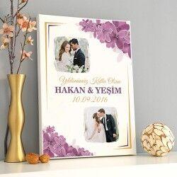 - Kişiye Özel Aşkımızın Tablosu Kanvas