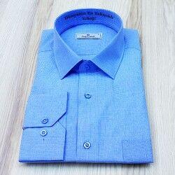 - Kişiye Özel Erkek Gömlek Mavi