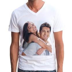 - Kişiye Özel Fotoğraf Baskılı Tişört Erkek Modeli