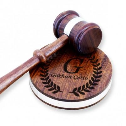- Kişiye Özel Hakim Tokmağı