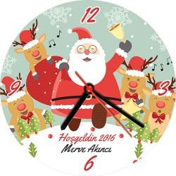 - Kişiye Özel Hoş Geldin Yeni Yıl Duvar Saati