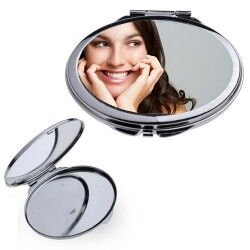 - Kişiye Özel Oval Metal Makyaj Aynası