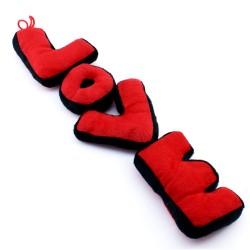 - LOVE Yazılı Peluş Süs