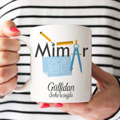 - Mimarlara Özel Hediyelik Kahve Kupası