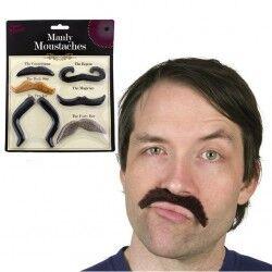 - Monly Moustaches - Bıyık Seti 6'lı