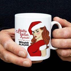 - Mutlu Yıllar Yakışıklı Kahve Kupası