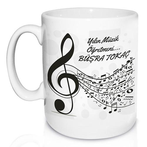 - Müzik Öğretmenine Özel Kupa Bardak