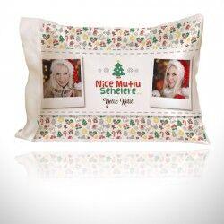 - Nice Mutlu Yıllara Fotoğraflı Yastık