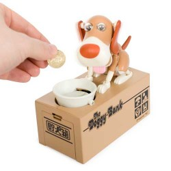 - Piggy Bank - Para Yiyen Köpek Kumbara