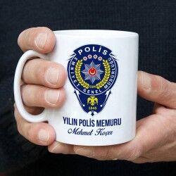 - Polislere Özel İsimli Kahve Kupası