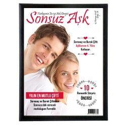 - Sevgililere Özel Dergi Kapağı