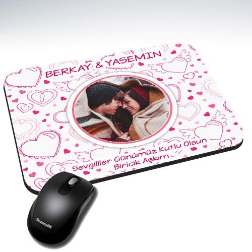 - Sevgilim ve Ben Kişiye Özel Mousepad