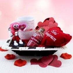 Sevgilime Seni Seviyorum Hediye Sepeti - Thumbnail