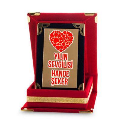 - Sevgiliye Özel Mini Plaket