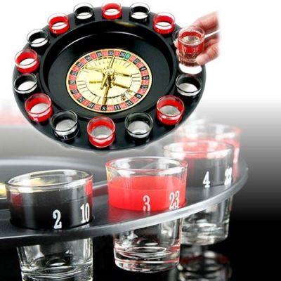 - Roulette Set - Shot Bardaklı Rulet Oyun Seti
