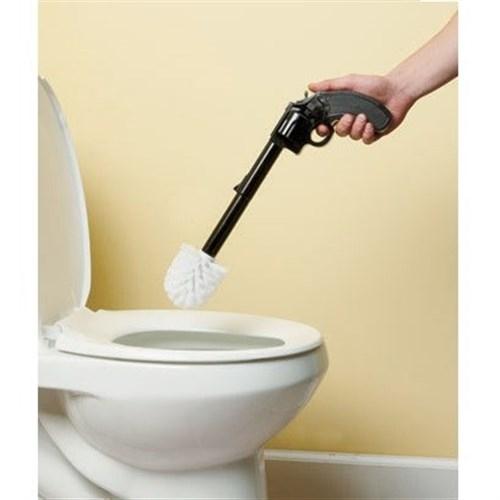 Silah Şeklinde Tuvalet Fırçası