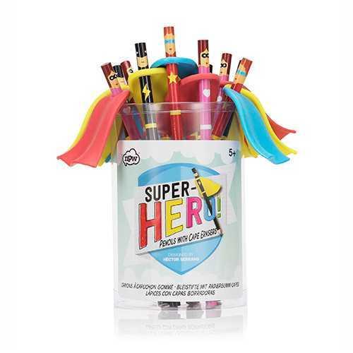 - Superhero Pencils - Süper Kahraman Kalemler