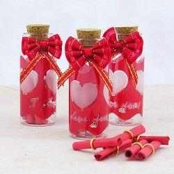 - Sürpriz Mini Mesaj şişesi