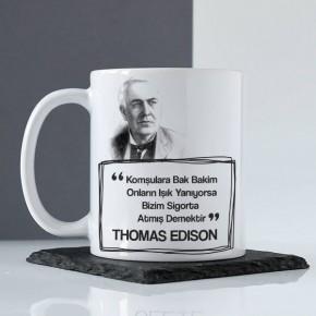 - Thomas Edison Esprili Kupa Bardak
