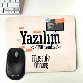 - Yazılım Mühendisine Özel Mousepad