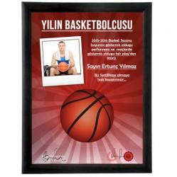 - Yılın En İyi Basketbolcusu Sertifikası